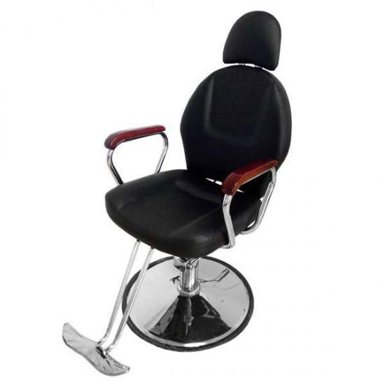 Професионален модел бръснарски стол с падаща облегалка 036A