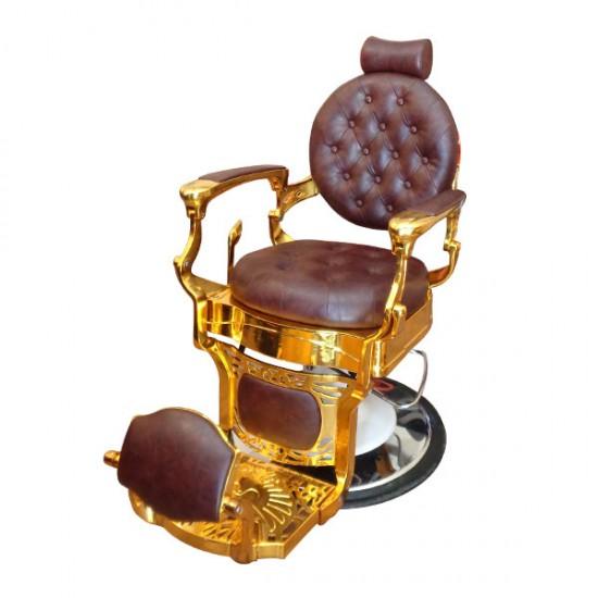 Луксозен и стилен бръснарски стол - BO49