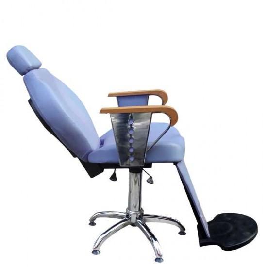 Бръснарски стол със стока за крака M052