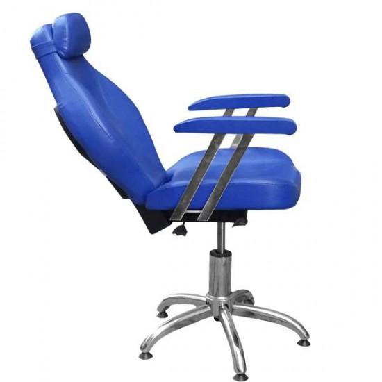 Бръснарски стол в синьо 1191-02