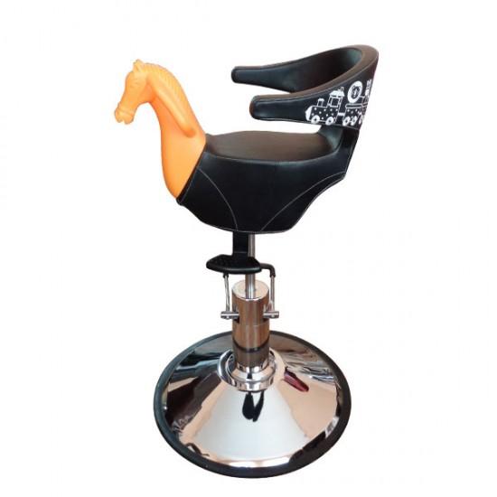 Фризьорски стол за деца с формата на конче