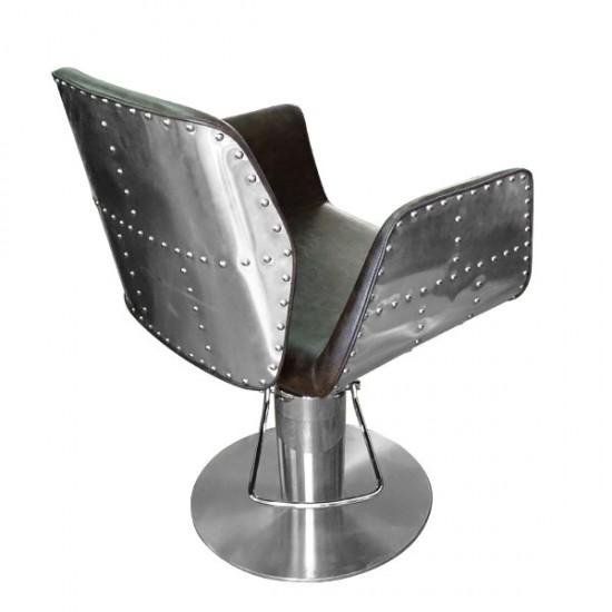 Фризьорски стол модел НА295 - кафяв