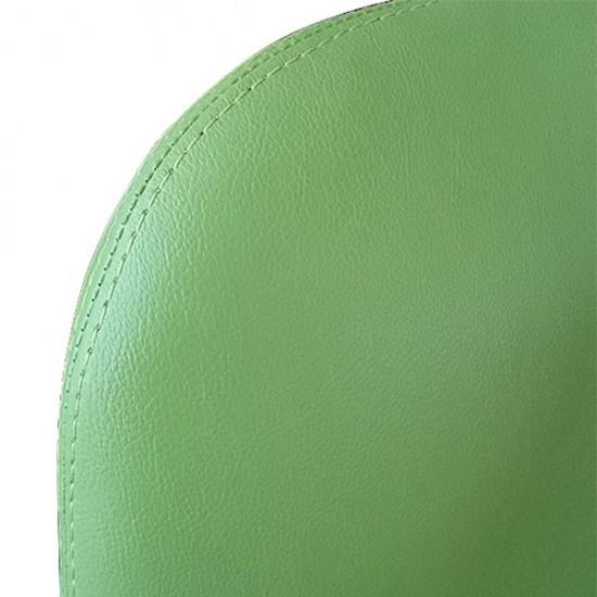 Зелен фризьорски стол