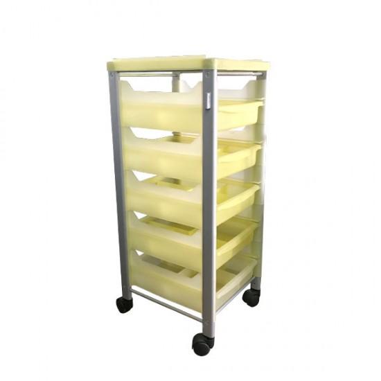 Фризьорска количка с 5 чекмеджета Модел 145