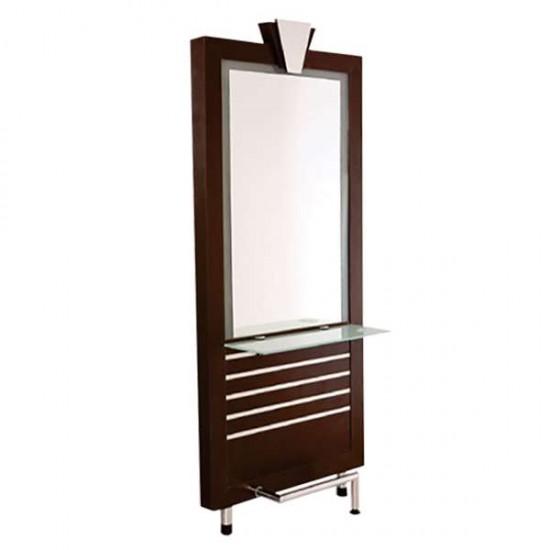 Луксозно работно огледало за фризьорски салон M18