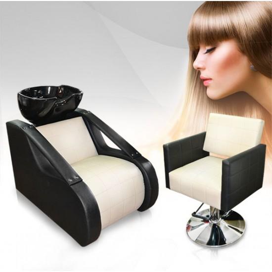Комплект за фризьорски салон в два цвята