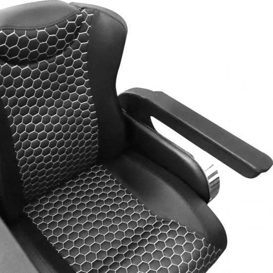Бръснарски стол N1005 с регулираща се облегалка