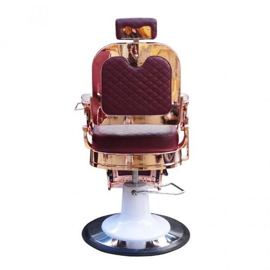 Луксозен бръснарски стол IM221