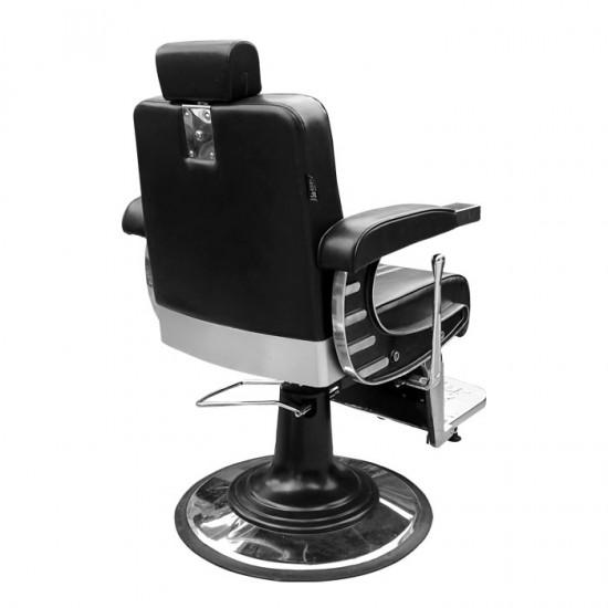 Черен бръснарски стол модел IM237