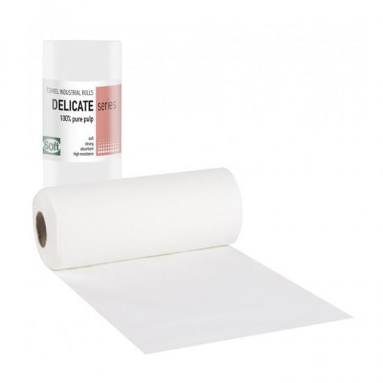 Двупластова хартиена кърпа на ролка Softcare