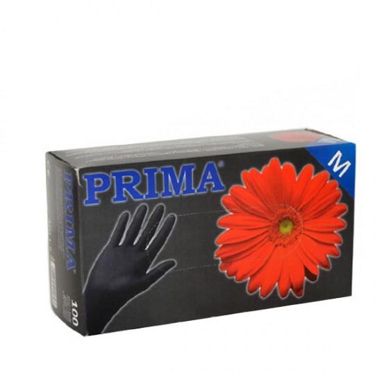 Черни ръкавици от нитрил за еднократна употреба – 100 броя в кутия