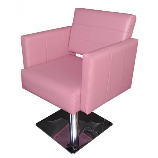 Фризьорски стол М788 в розово