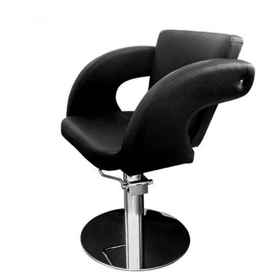 Фризьорски стол модел М1001 в черен цвят