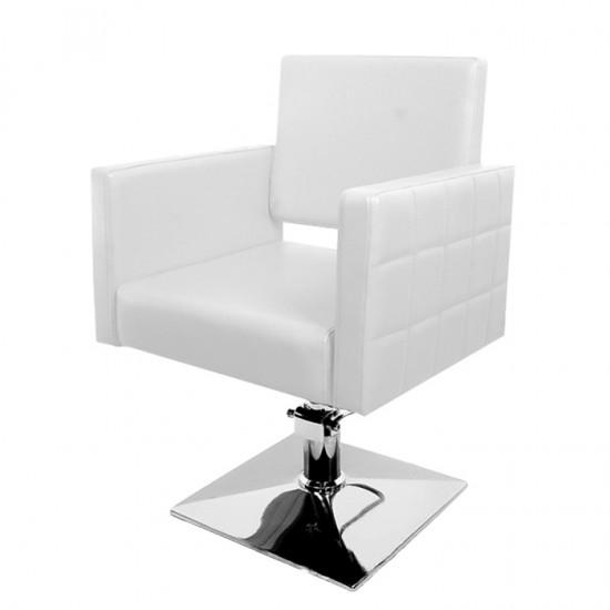 Стол за подстригване PA08F0W - Бял