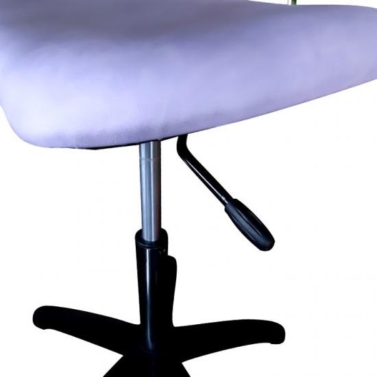 Професионален фризьорски стол модел 333 в стилен лилав цвят