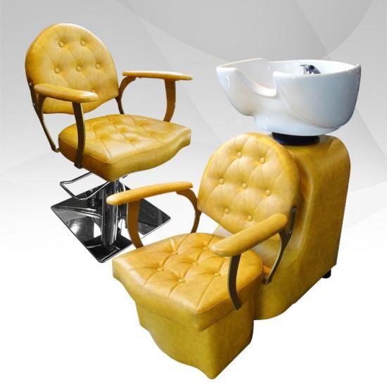 Измивна колона за фризьорски салон модел В055