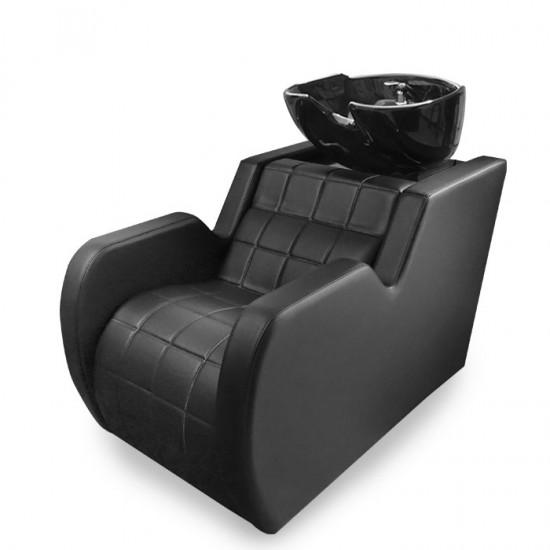 Професионална измивна колона N292А в черен цвят