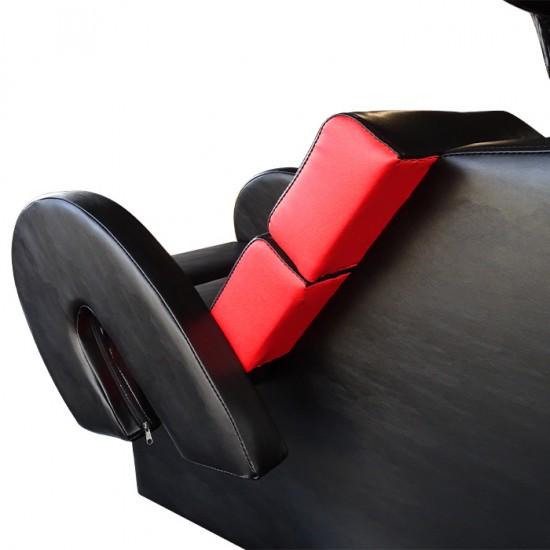 Стилна измивна колона FO22, Черно-червен