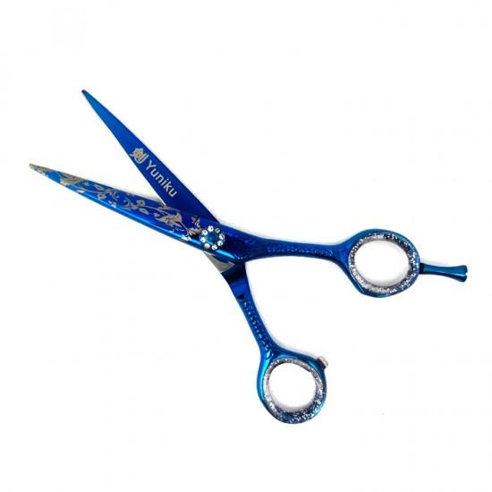 Фризьорски ножици за подстригване и филиране Yuniku модел DS4