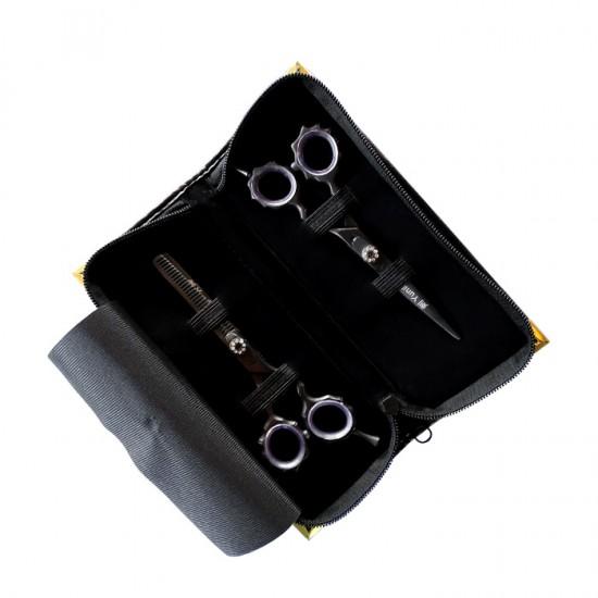 Луксозен сет професионални фризьорски ножици Yuniku модел DS6