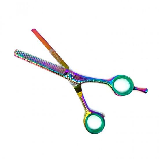 Фризьорски ножици за подстригване и филиране Yuniku модел DS7