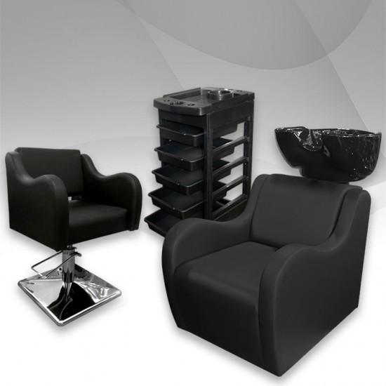 Класически фризьорски комплект Leather