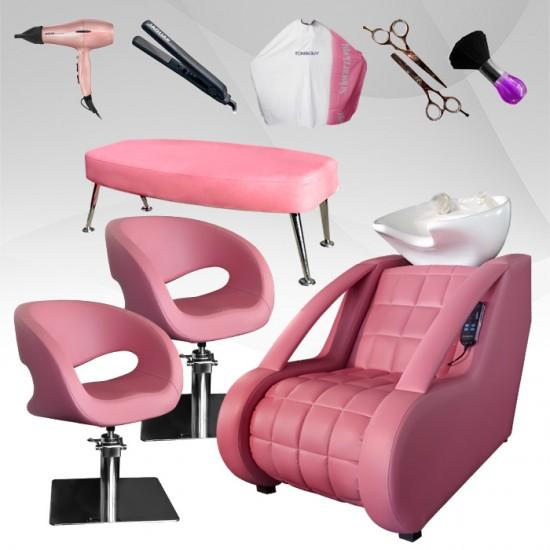 Pink Start пакет за фризьорски салон