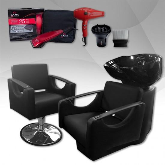 Промо пакет за фризьорски салон Cut & Style