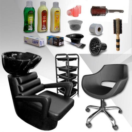 Оборудване за фризьорски салон с включени подаръци Style Essentials