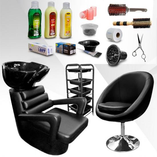 Оборудване за фризьорски салон с включени подаръци