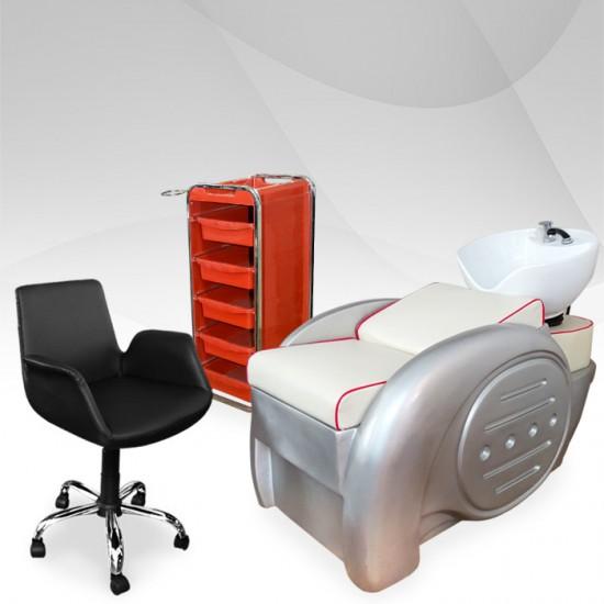 Пакет професионално фризьорско оборудване - RED