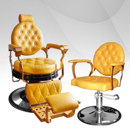Пакет оборудване за бръснарски салон Barber LUX