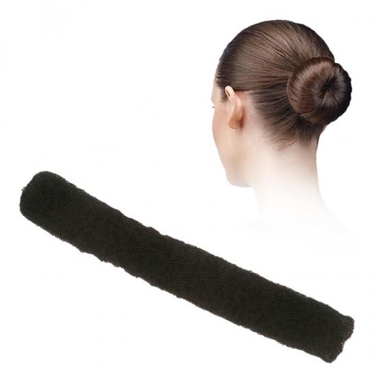 Гъба за кок, черен цвят, с клипса - 250 мм